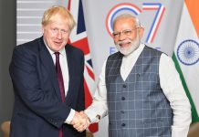 Britain invites Prime Minister Modi for G7 summit