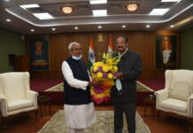 Bihar Chief Minister calls on the Vice President