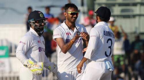 Chennai Test: India's 317-run victory over England with a claw of alphabets