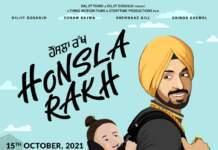 Diljit Dosanjh turns producer with Honsla Rakh, releasing on Dusshera 15th Oct, 2021