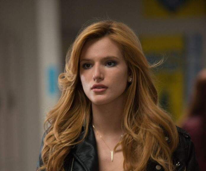 Bella Thorne intimate scenes uncomfortable without clothes