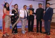 Shailesh Giri and Usha Mishra honored with 'FACE Rashtriya Gaurav Award