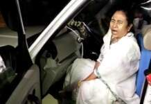 Mamta attacked in Nandigram, left for Kolkata