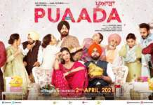AMMY VIRK & SONAM BAJWA STARRER PUAADA TO HIT THEATRES THIS GOOD FRIDAY, 2ND APRIL, 2021