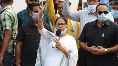 Mamta Banerjee filed nomination from Nandigram