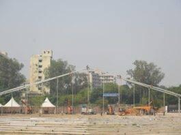 500-bed temporary ICU at Ramlila Maidan in Delhi