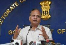 Humongous profit of ₹16,000 Cr incurred on 100 Cr doses by SII & Bharat Biotech each; Is pandemic an opportunity to generate profits when the nation is grappling with a crisis?: Satyendar Jain