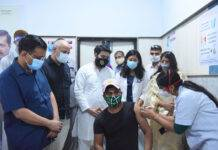 CM Arvind Kejriwal inaugurates free of cost walk-in vaccination facility for journalists and their families