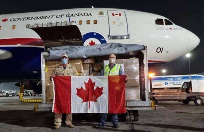 Second Canadian flight carrying medical supplies lands in New Delhi