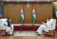 Assam CM Himanta Biswa Sarma meets Vice-President M Venkaiah Naidu