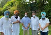 Rebel MLAs of Aam Aadmi Party meet Rahul Gandhi in Delhi
