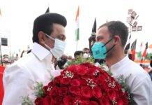 Stalin wishes his 'beloved brother' Rahul Gandhi on his birthday