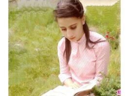 Maheena Zehra Author social media writer author kashmir
