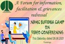 NDMC organising online Jan Suvidha Camp for Redresses Public Grievances through Video conferencing