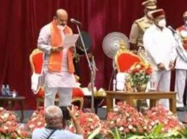 Basavaraj Bommai sworn in as 30th Chief Minister of Karnataka
