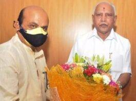 Basavaraj Somappa Bommai was elected as the new Chief Minister of Karnataka