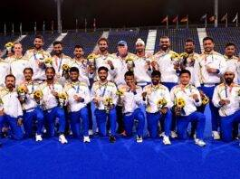 Indian hockey teams achieved their best ever ranking