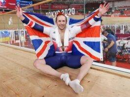 Kenny becomes the first British to win 7 Olympic golds