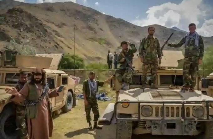 Taliban using US weapons in Panjshir Valley